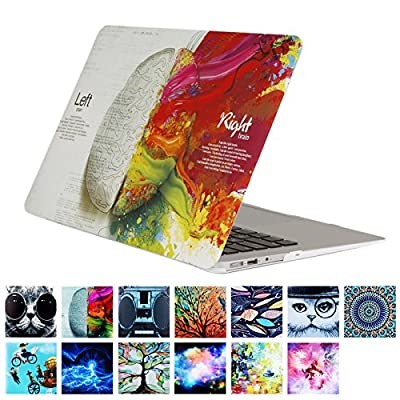"Macbook Air 11.6"" Case,YMIX Fancy Hard PC Shell [Silent City Series] Ultra Slim Protective Case Cover for MacBook Air 11 inches (Models: A1370 and A1465)"