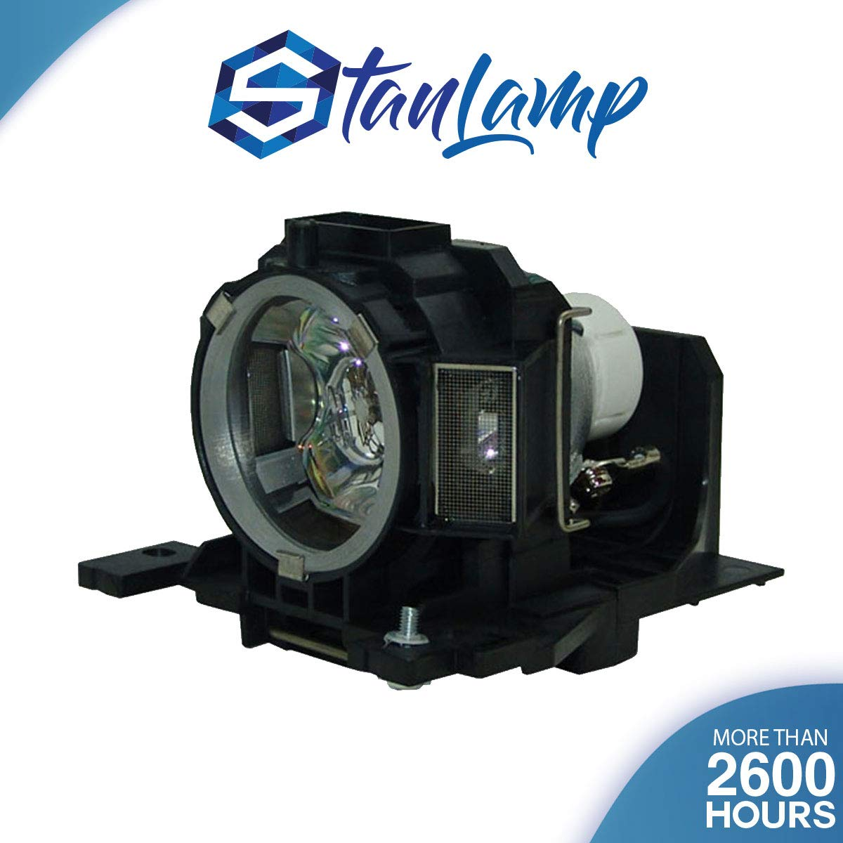 StanLamp Projector Replacement Lamp with Housing for Hitachi DT00891 CP-A100 ED-A100 ED-A110 CP-A101 CP-A100 CP-A100J CP-A101i ED-A100 ED-A100J ED-A110 ED-A110J HCP-A8