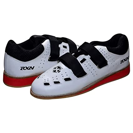 4e82367dfd5d Buy RXN New Weightlifting   Gym Shoes Size 11 UK (White Black) Online at  Low Prices in India - Amazon.in