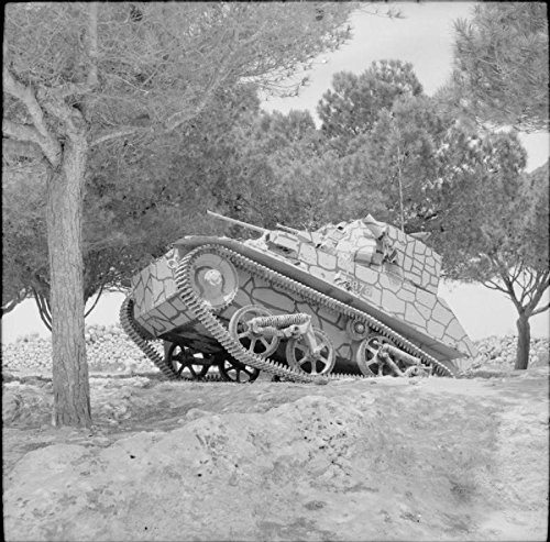 Home Comforts The British Army on Malta 1942 A Light Tank Mk VIC on exercise in the Maltese countryside, 24 March by Home Comforts