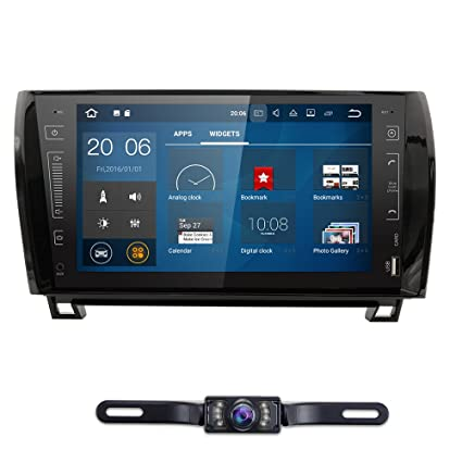 Amazon.com: In Dash Android 7.1.1 Double Din 9 Inch Capacitive Touch
