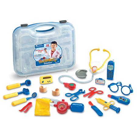 Amazon.com: Learning Resources Pretend & Play Doctor Set