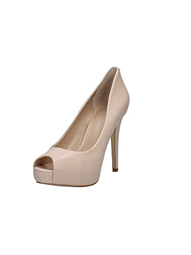 8b94595bf2a6 Guess Escarpins pour Femme Beige Nude  Amazon.fr  Chaussures et Sacs