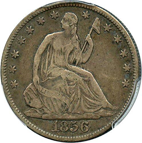 1856 O Liberty Seated Half Dollars Half Dollar VF25 PCGS (1856 Half Dollar)