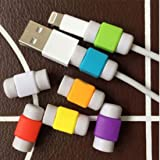 2 Sets Charger Cable Saver Protector for Apple iPhone Android Universal Power