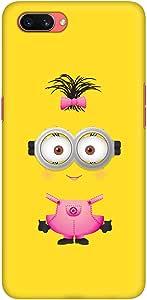 Stylizedd Oppo A3s Slim Snap Basic Case Cover Matte Finish - Girly Minion 2