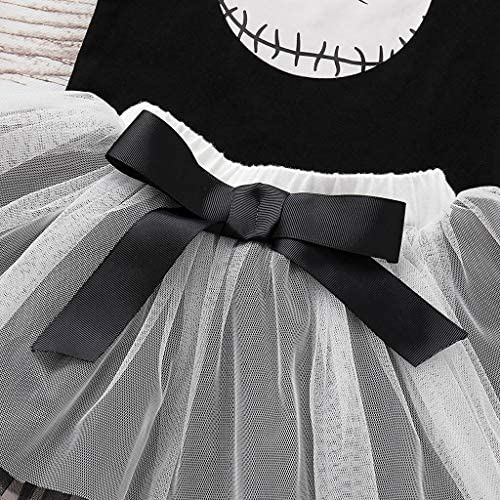 Sameno Newborn Baby Girl Clothes 0-18 M Infant Romper Tutu Cute Halloween Costume Outfits Set Party Dress Gift