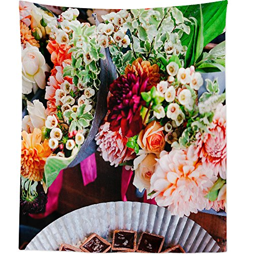 Westlake Art - Wall Hanging Tapestry - Flower Bouquet - Photography Home Decor Living Room - 26x36in ()