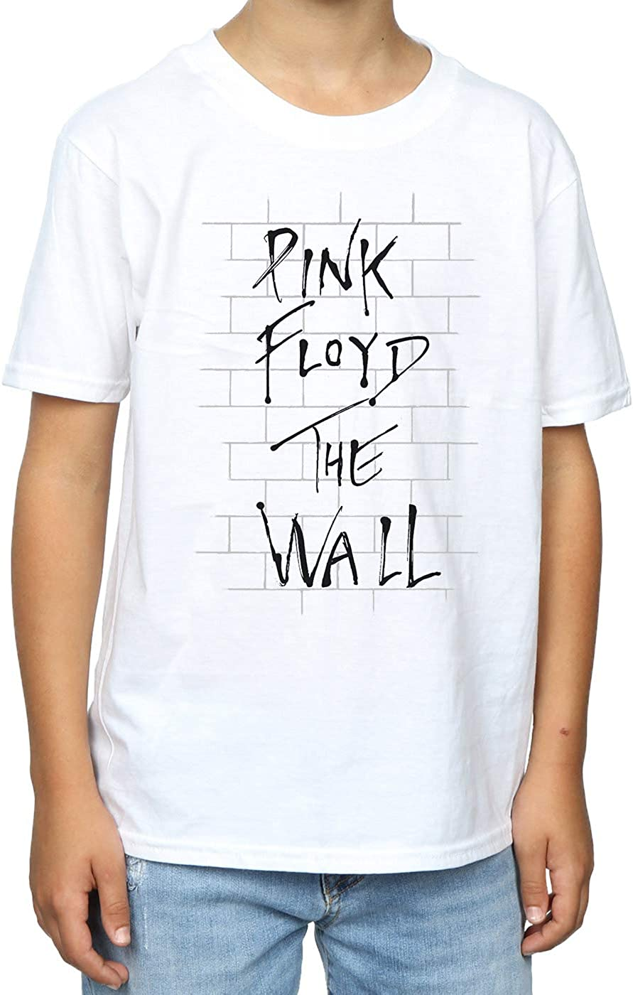 PINK FLOYD ROGER WATERS THE WALL Kids Boys Girls Licensed Band Tee Shirt SM-XL