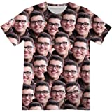 Personalized Photo T Shirts Custom Your Face Collage All Over Printed