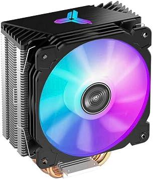 Aishanghuayi Enfriador de CPU (Siete Efectos de luz Streamer / 4 ...