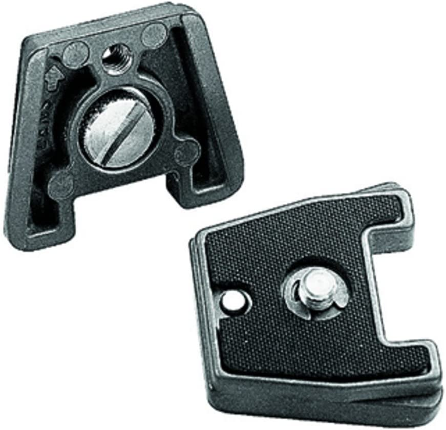 Manfrotto Quick Release Plate with 1//4 inch Screw