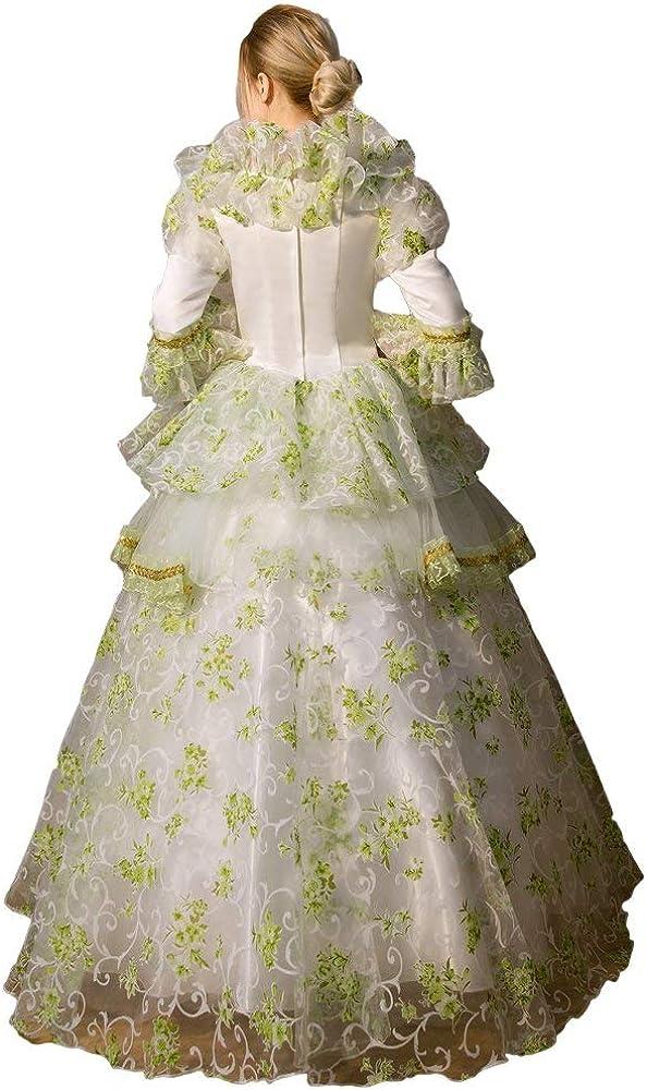 KEMAO Abito da Donna di Fascia Alta Rinascimentale Storico per Il 18/° secolo Barocco Marie Antoinette Ball Stile Rococo
