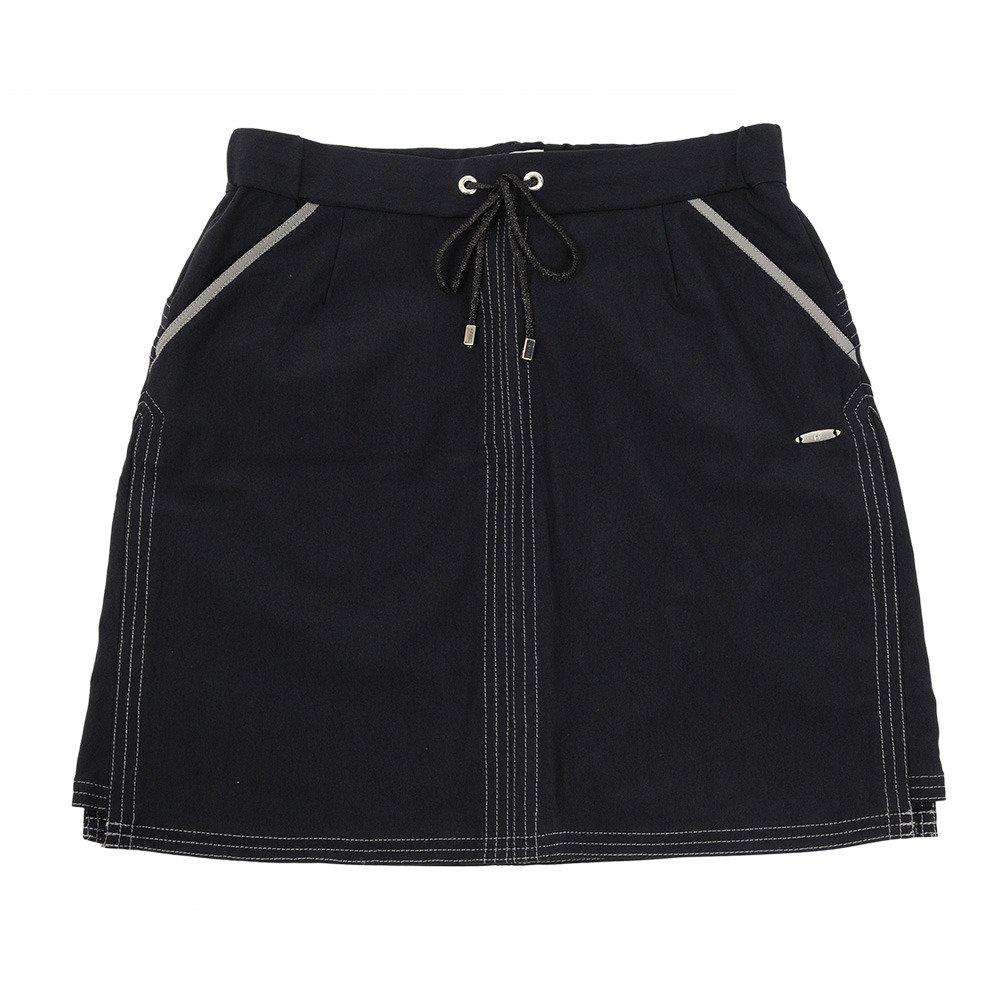 ヒールクリーク(ヒールクリーク) ゴルフウェア レディース Lサマーハイテンションスカート 002-77540-098 M ネイビー B07D9WW51H