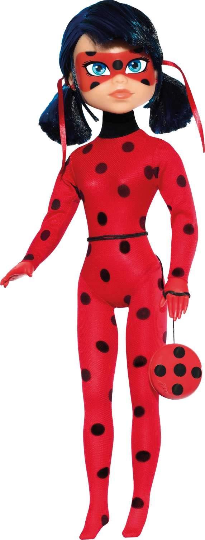 070c5b608c Boneca Ladybug Miraculous com Ioiô Baby Brink Vermelho Bolinhas Pretas 55cm   Amazon.com.br  Brinquedos e Jogos