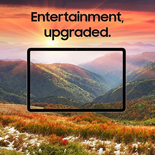 SAMSUNG Galaxy Tab S7+ Plus 12.4-inch Android Tablet 128GB Wi-Fi Bluetooth S Pen Fast-Charging USB-C Port, Mystic Silver
