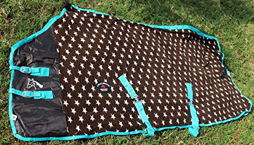Challenger Horsewear 80 Horse Sheet Polar Fleece Cooler Exercise Blanket Wicks Moisture 4347 by Challenger Horsewear
