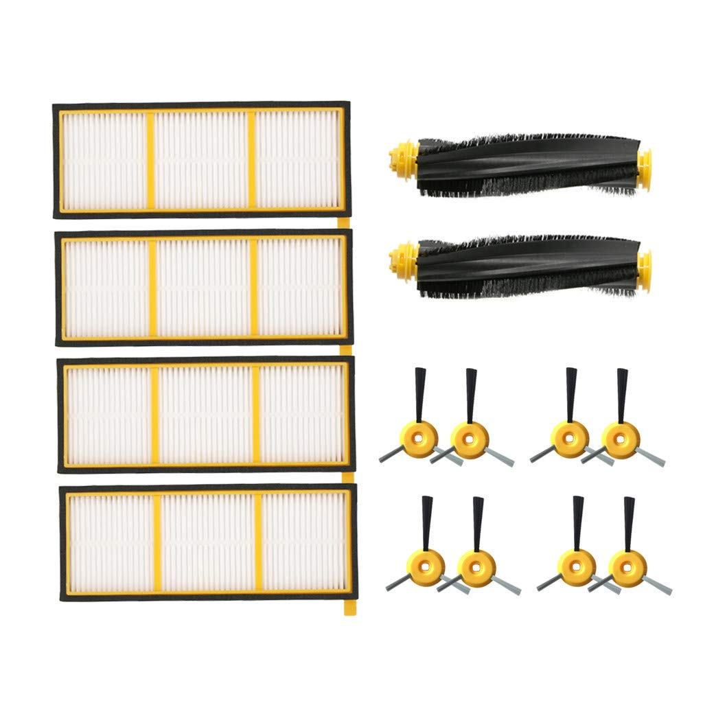 Weisfe78 Cleaner Replacement Parts Robot Accessory Accessories Kit for Shark ION Robot RV700 RV750 Vacuum Cleaner and Sweeping Robo (10 PCS) by Weisfe78