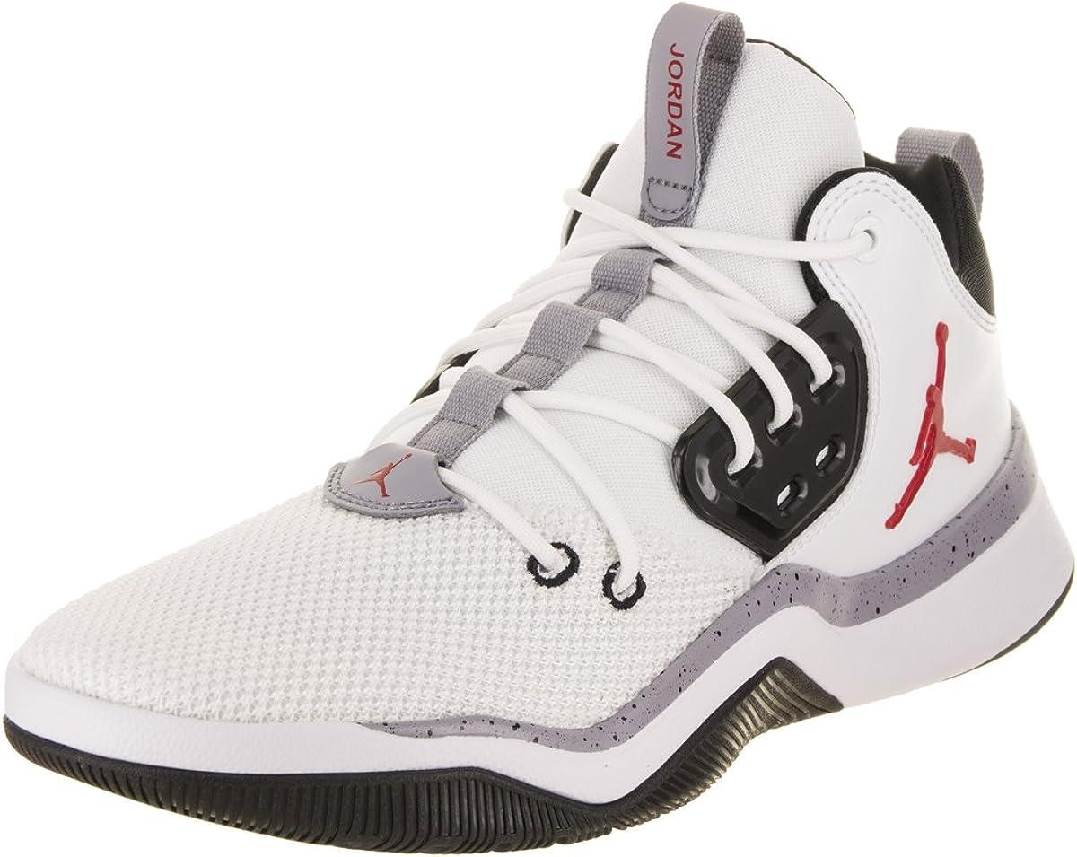 AIR Jordan DNA Shoe White/Gym RED