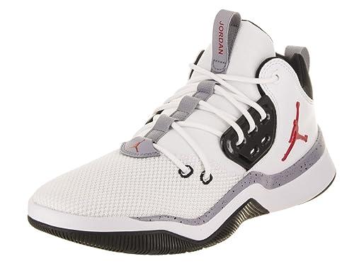 Zapatillas Jordan - DNA Blanco/Rojo/Negro Talla: 44: Amazon.es: Zapatos y complementos
