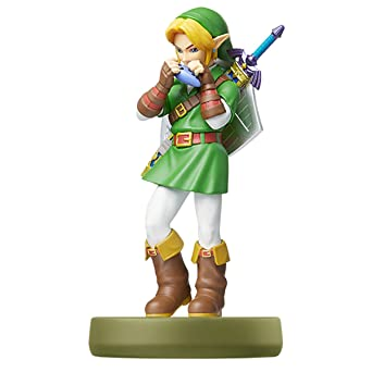 Nintendo Amiibo Link Ocarina Of Time The Legend Of Zelda