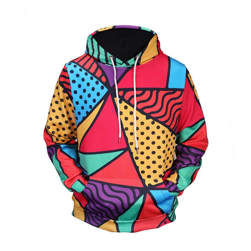 CHAOHAO 3D Kapuzenpullover Mantel Pullover 3D-Pullover Europa Vereinigten und Den Vereinigten Europa Staaten Herbst und Winter Geometric Print Hooded 3D-Pullover Größe Gezeiten Marke Herrenbekleidung 1ac8ac