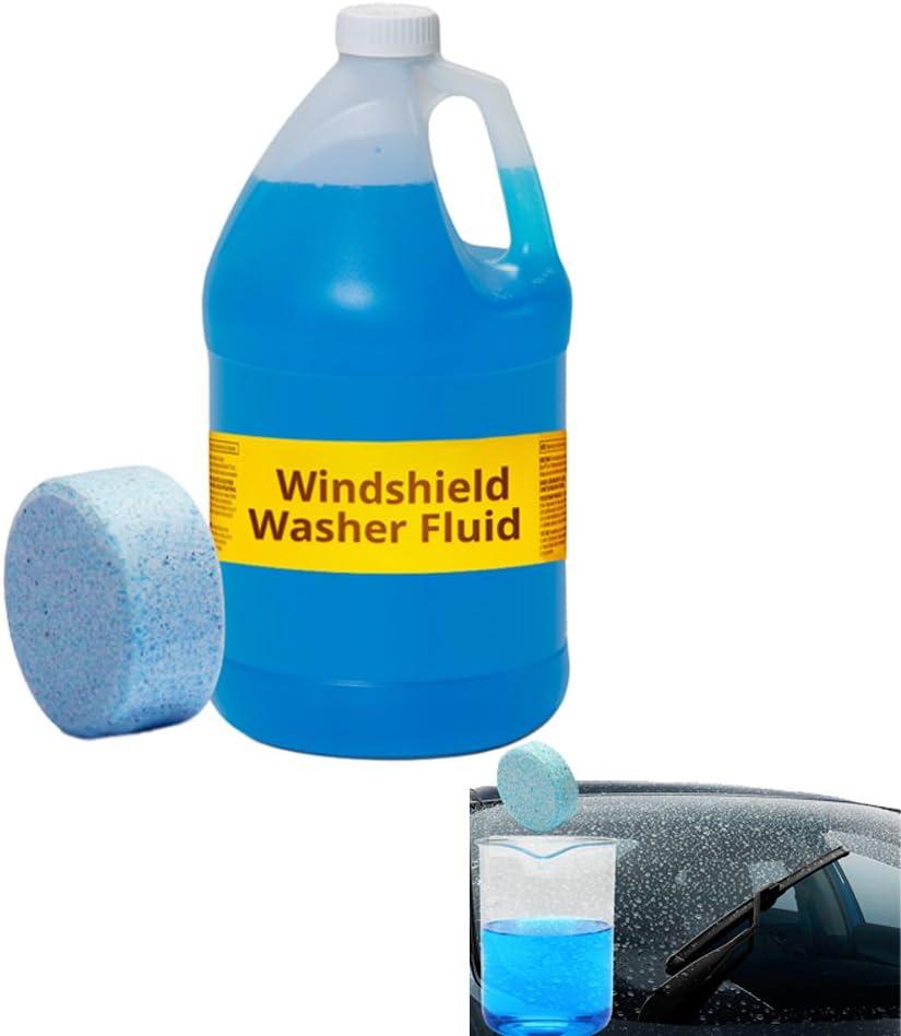 Limpiaparabrisas concentrado de arandela maciza, limpiaparabrisas para coche: Amazon.es: Coche y moto