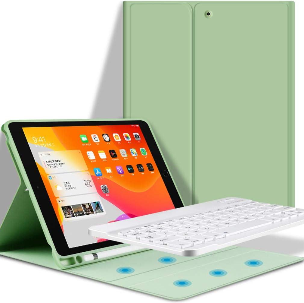 Nero 10.5 Pollice 2019//iPad PRO 10,5 Pollice 2017, ELTD Tastiera Custodia per iPad Air 3/ème Pelle PU Custodia con Rimovibile Wireless Keyboard Tastiera Layout Italiano(/é./ç ./§)