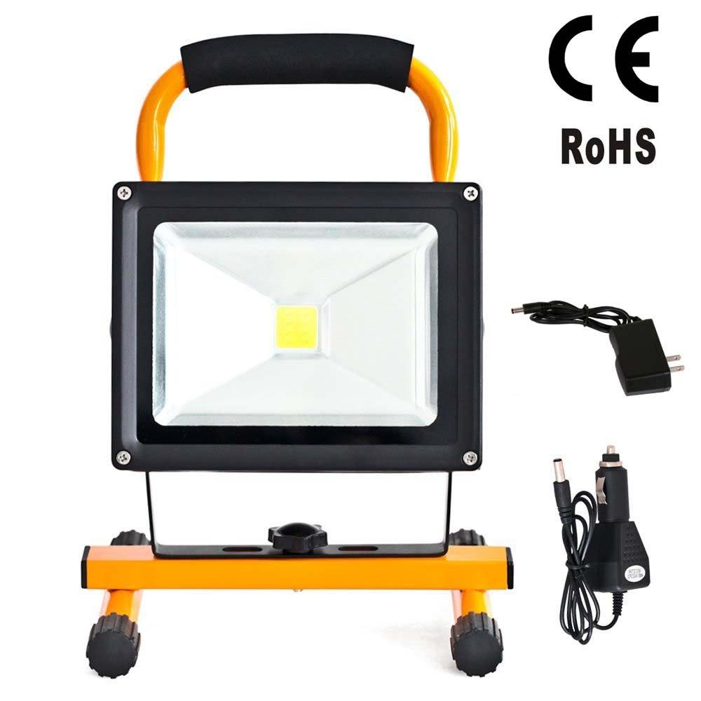 20w ip66 portable cordless rechargeable led flood spot work light 20w ip66 portable cordless rechargeable led flood spot work light lamps for outdoor camping working fishing waterproof security lights amazon workwithnaturefo