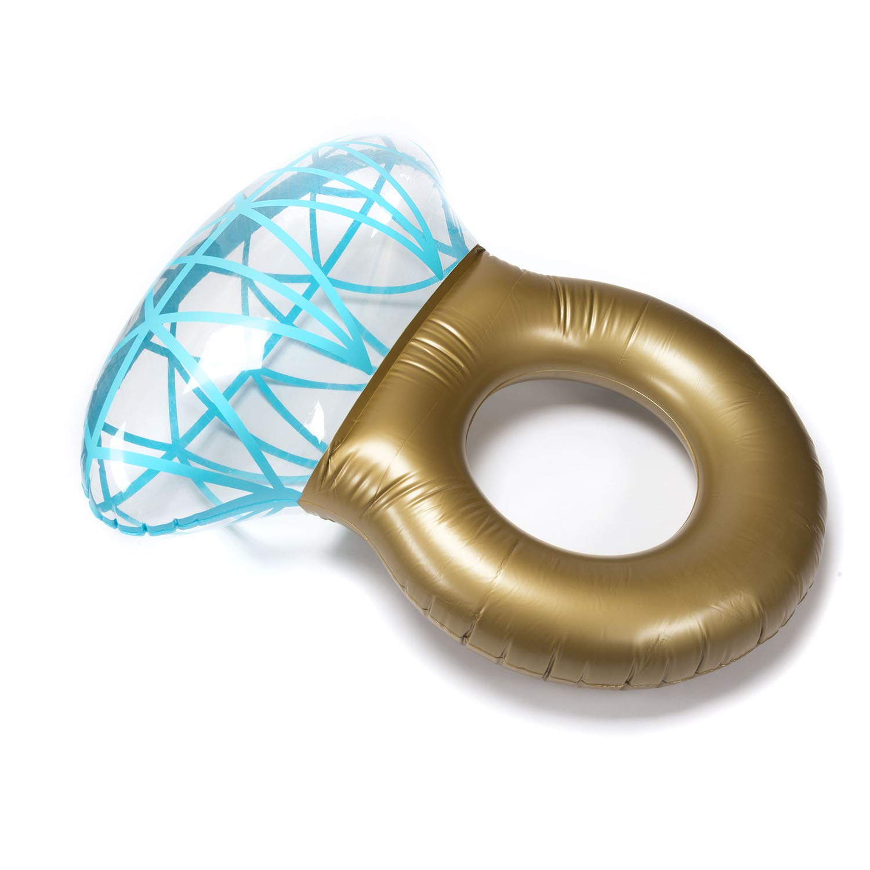 Goods & Gadgets Anillo de Diamante Hinchable 36102 - Flotador ...
