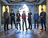 Shadowhunters cast reprint signed 11x14 poster photo by all 7 #3 Mortal Instruments RP