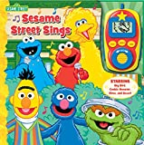 Sing along with your favorite Sesame Street friends with the help of this fun book and detachable module which resembles a digital music player.  Detachable module features volume control; on/off switch, shuffle mode, play/stop buttons, song ...