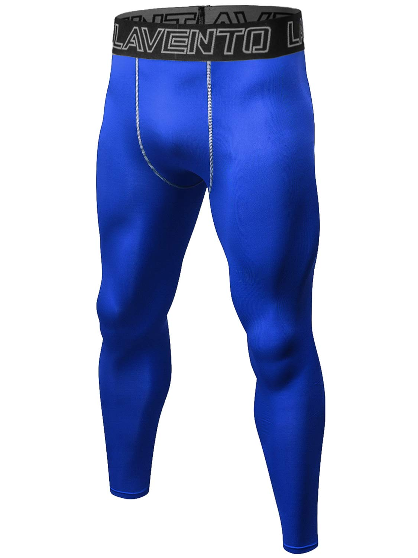 Lavento Men's Compression Pants Cool Dry Workout