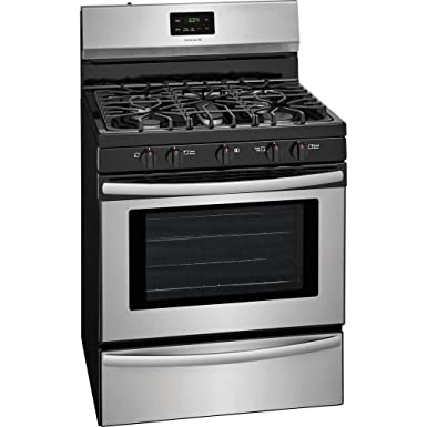 Frigidaire FFGF3052TS 30 Inch Gas Freestanding Range with 5 Sealed Burner Cooktop, 4.2 cu. ft. Primary Oven Capacity, in Stainless Steel