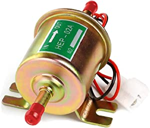 CarBole Universal 12V Heavy Duty Electric Fuel Pump Metal Solid Petrol 12 Volts (Model:HEP-02A)