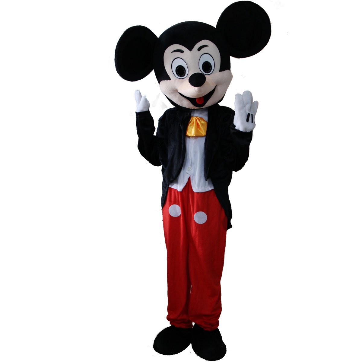 Laies Sky Mickey Mouse Minne Cartoon Character Mascot Costume by Laies Sky