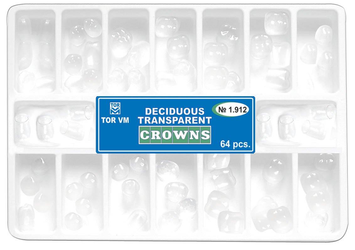 Dental Deciduous Transparent Crowns Matrices Matrix 64 pcs. TOR VM