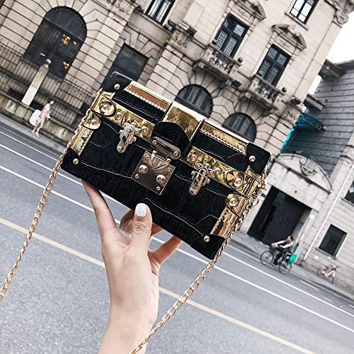 sac couture carré contraste rétro Sac femme tendance couleur laser lettres sac paillettes de petit transparent jelly impression paquet IxUtZqU