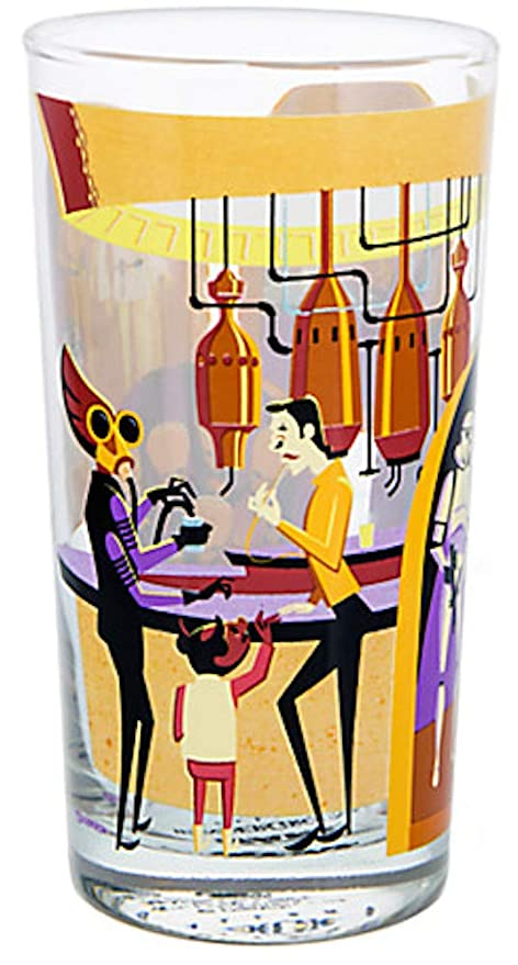 0f5bfe59 Amazon.com   Disney Shag Star Wars A Wretched Hive Cantina Glass Cup: Cups,  Mugs, & Saucers