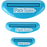 Home-X Multi-Purpose Tube Squeezer Toothpaste Dispenser Holder. Set of 3 Sizes.