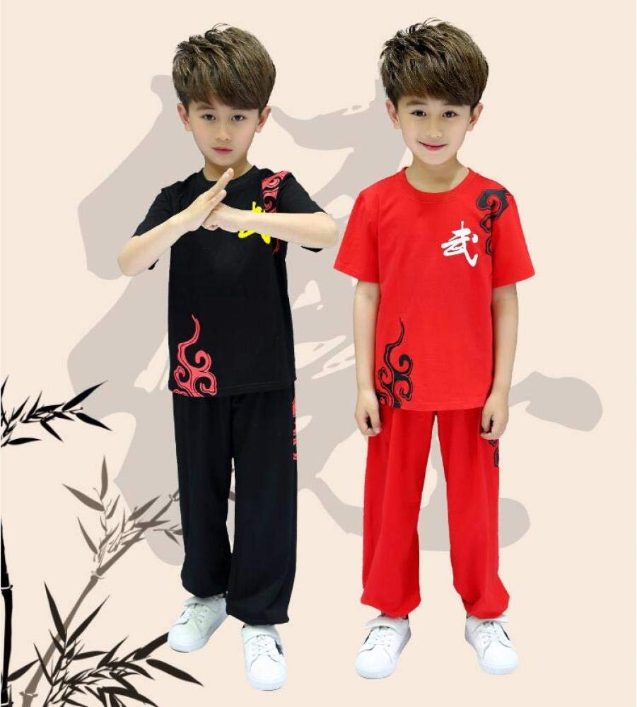 dududrz Tai Chi Uniforme Los Niños Kung Fu Traje Uniformes ...