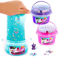 Canal Toys, Slime Bucket with Decorations,, Unisex niños, Rosa/Verde/Lila, L12,3W12H15,8