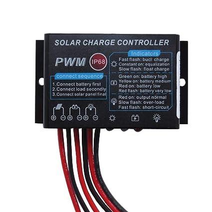 Amazon.com: HUINE 10A IP68 Impermeable PWM Controlador de ...