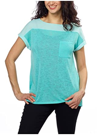 94a9c9b1 Calvin Klein Jeans Women's V-Neck or Crew Neck Short Sleeve Knit Top (Small