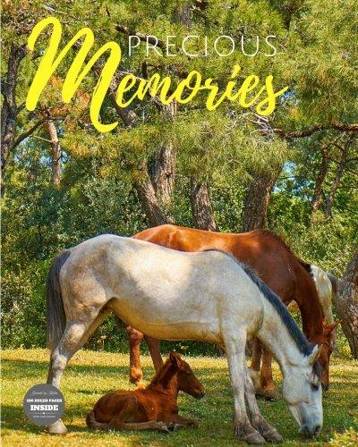 Precious Memories: Horse Composition Notebook Journal Diary (Volume (Precious Journals)
