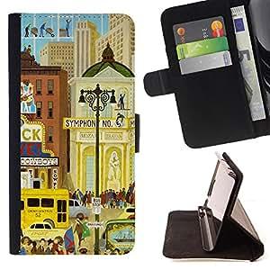 Jordan Colourful Shop - FOR Samsung Galaxy Note 4 IV - I will be right here - Leather Case Absorciš®n cubierta de la caja de alto impacto