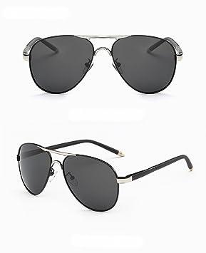 gafas de Sol polarizadas de Los Hombres gafas de Sol grandes clásicas del capítulo del Espejo
