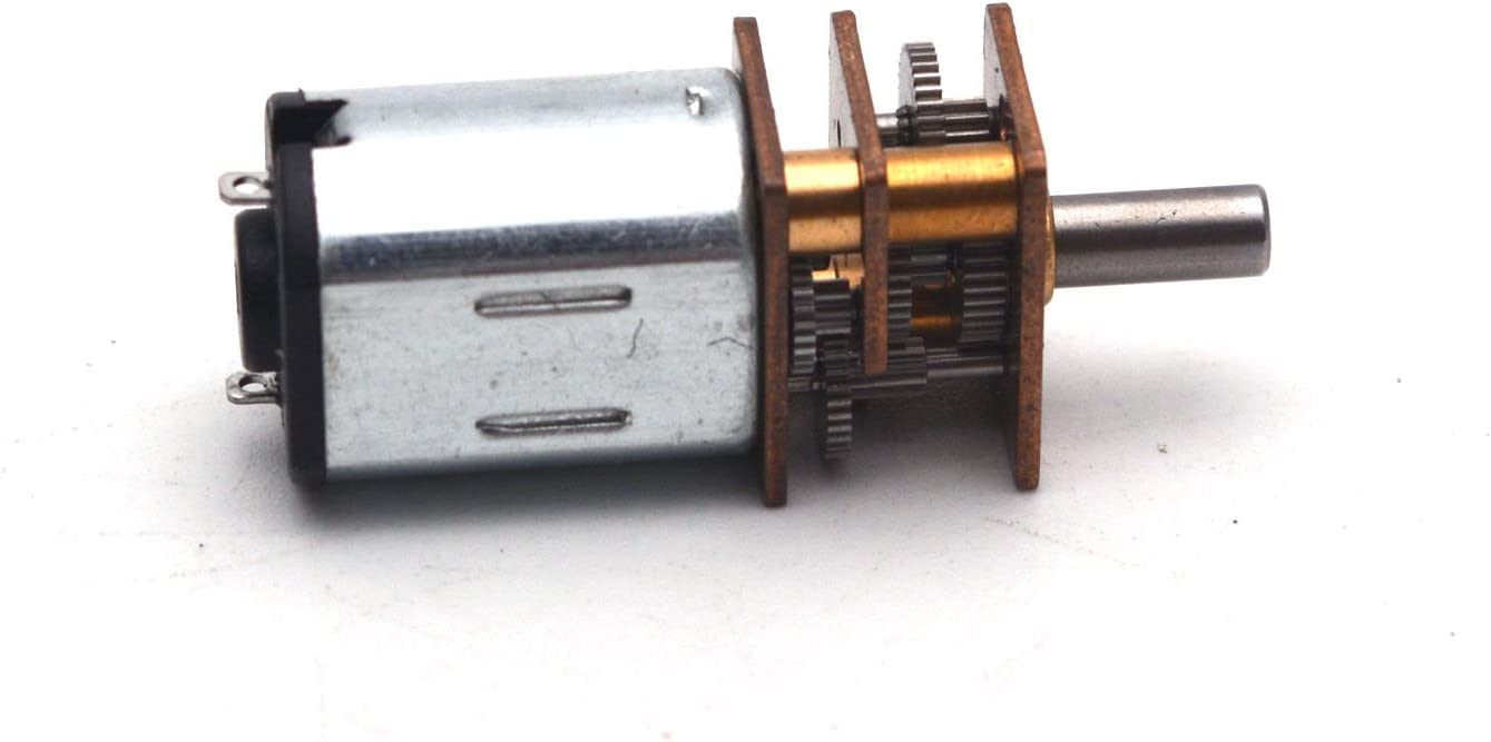 1Pcs Micro Speed Reduction Gear Motor With Metal Gearbox Dc 6V 30Rpm Wheel rc