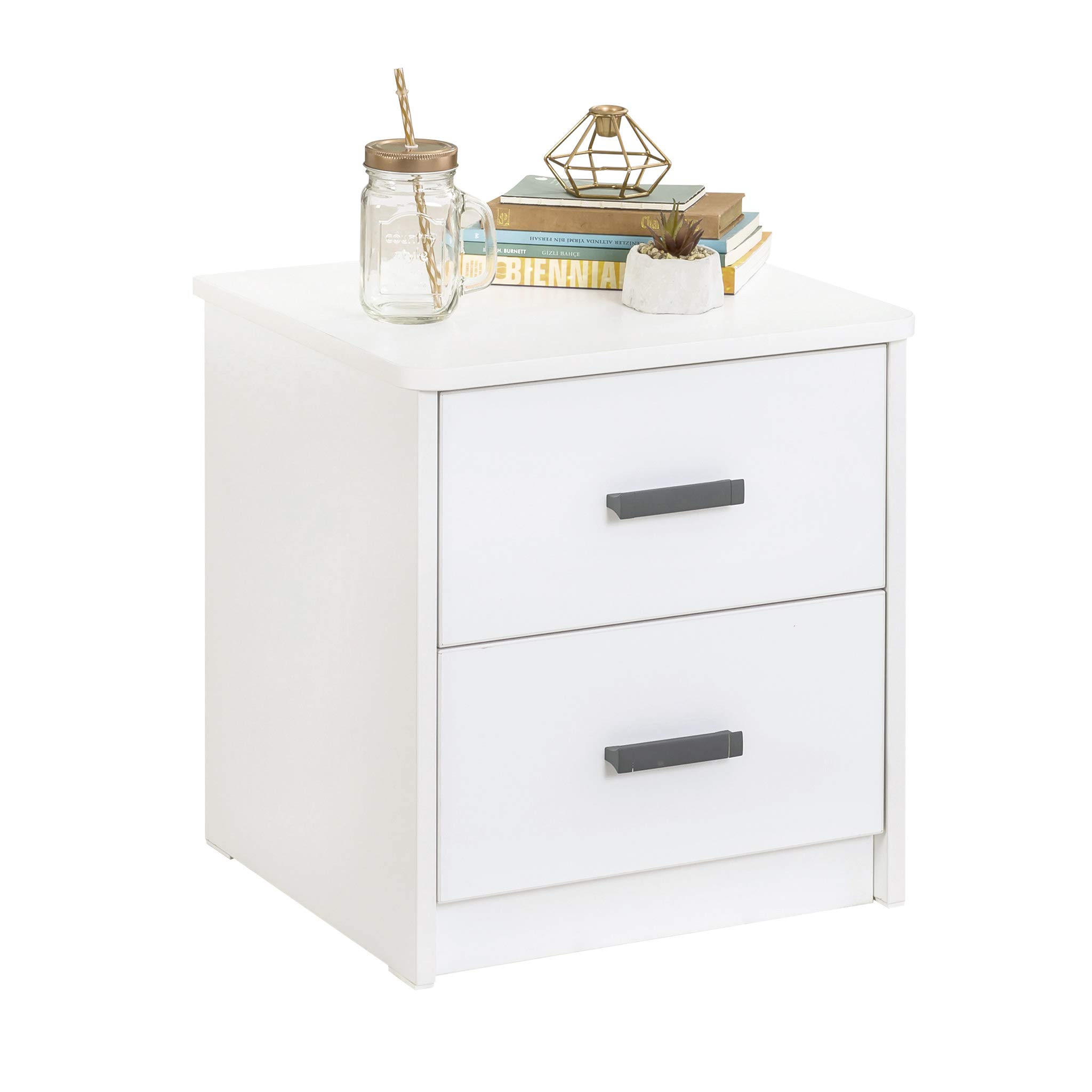 Cilek White Collection Nighstand for for Kids and Teens, Unisex,