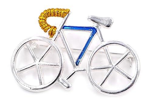 Small Island Broche para Bicicleta Muy Bonito Chapado en ...